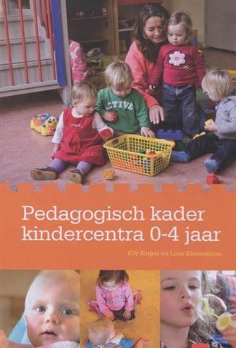 Pedagogisch kader kindercentra 0-4 jaar  Description: Pedagogisch medewerkers op kinderdagverblijven en peuterspeelzalen hebben een belangrijke rol in de opvoeding van kinderen. Daar is iedereen het inmiddels over eens. Opvang = opvoeden. Dit vraagt om een pedagogiek die specifiek voor kindercentra ontwikkeld is.Pedagogisch kader kindercentra 0-4 jaar:- inspireert en ondersteunt pedagogische medewerkers bij hun dagelijks werk;- vormt de basis voor het pedagogisch beleid van kindercentra…