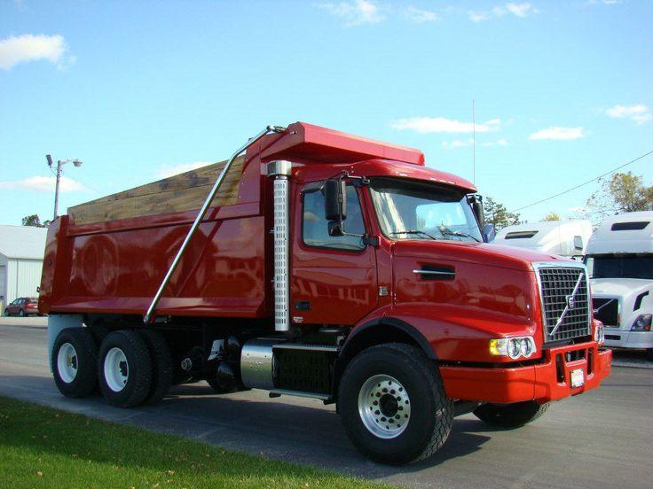 dump trucks for sale   2012 Volvo Dump Truck VHD64B for sale