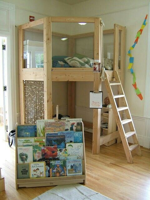25 Best Kids Loft Bedrooms Ideas On Pinterest Kid Loft