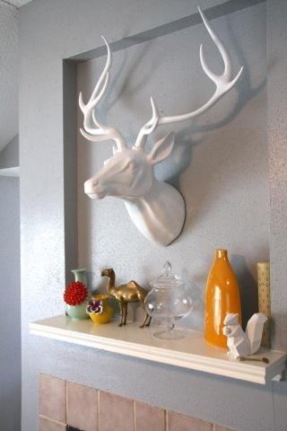 Les 25 meilleures id es de la cat gorie d cor de t te de for Decoration maison chasse