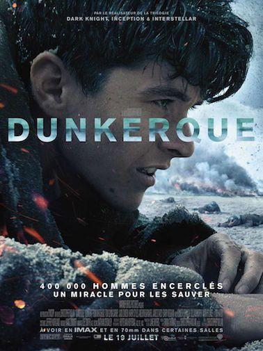 Critique de Dunkerque de Christopher Nolan en salles le 19 juillet 2017 distribué par Warner Bros