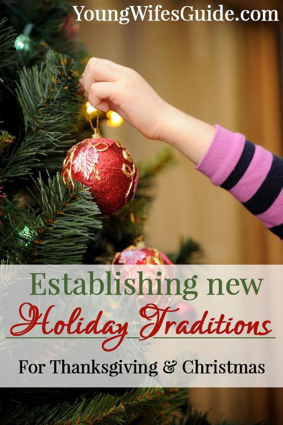 A blend of holiday traditions that are unique to your family can be such a wonderful way to create warm and close relationships with your spouse and, later, children. Whether you are newly married or have been married a few decades, consider making your holiday traditions more intentional this year!