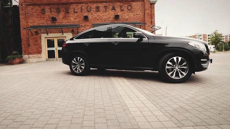 Mercedes-Benz tuo markkinoille SUV-Coupén. Suomessa GLE Coupé -mallin myynti alkaa tänä viikonloppun... - Toimittanut Tuulilasi