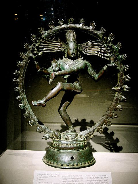 Shiva as 'Lord-of-Dance' ('Nataraja'), Chola period (880-1279), ca. 11th century - Tamil Nadu, India - Currently at the Metropolitan Museum of Art, New York City - Flickr - Photo Sharing!