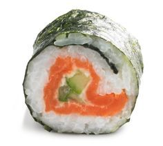 sushi maken met zalm en roomkaas