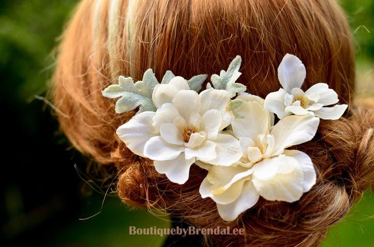 A set of 4 Floral U pins by BoutiquebyBrendaLee on Etsy