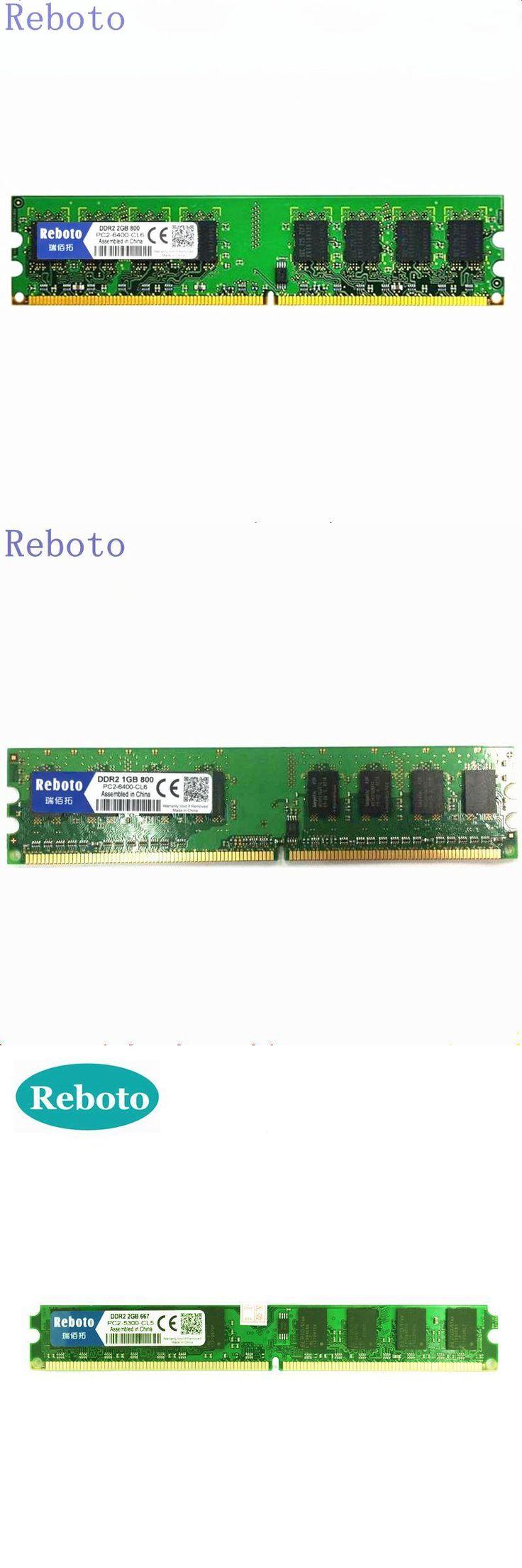 [Visit to Buy] Reboto  DDR2 800Mhz/ 667MhzPC2-6400 5300 1GB/2GB for Desktop RAM Memory 240pin Free Shipping #Advertisement