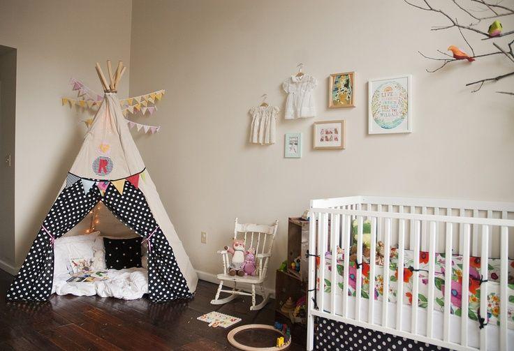 15 id es pour cr er un tipi dans une chambre d 39 enfant. Black Bedroom Furniture Sets. Home Design Ideas