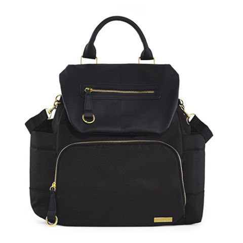 11 Best Diaper Bags for Spring 2016 - Baby Diaper Bags and Backpacks - Skip Hop Chelsea Downton Chic Diaper Backpack, $100, skiphop.com. You probably haven't carried a backpack since your high-school Jansport days, but when you're juggling a baby and a stroller on-the-go, you can't beat the convenience of this portable style. Discover more chic diaper bags at redbookmag.com.