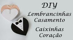 DIY: Como Fazer Lembrancinhas de Casamento - Caixinhas Coração de Garrafa Pet e…