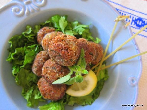 Octopusballs (χταποδοκεφτέδες), #Greece #kitsakis