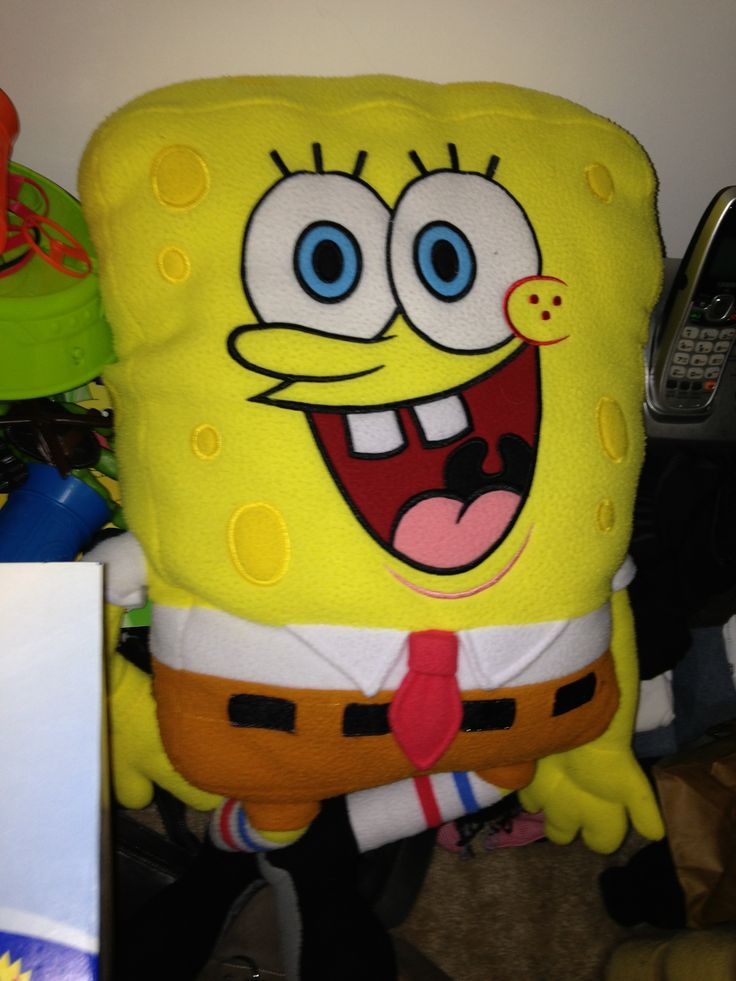 Spongebob Pillow in LikeNew's Garage Sale in Geneva , IL for $5.