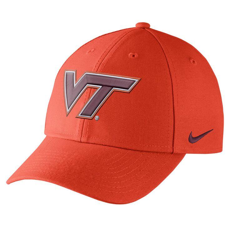 Virginia Tech Hokies Nike Wool Classic Performance Adjustable Hat - Orange