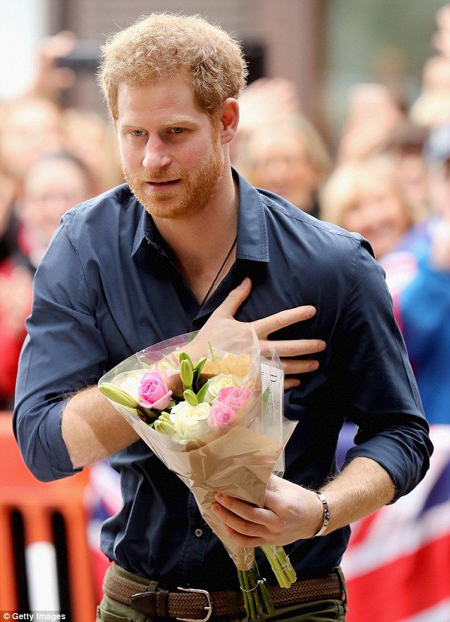 February 21, 2017: Prince Harry was greeted by adoring crowds who queued for up to four hours to see the royal as he touched down in the North East on Tuesday afternoon. Harry, 32, was attending a charity event hosted by Walking With The Wounded in Gateshead, Tyne and Wear, to discuss issues faced by ex-servicemen and women.