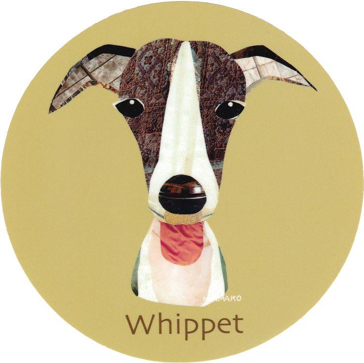 マイ @Behance プロジェクトを見る : 「011   Whippet」 https://www.behance.net/gallery/42194863/011-Whippet