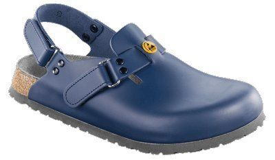 Alpro clogs C 100 ESD from Leather in blue with a regular insole Alpro. $92.19. leather. antistatic sole