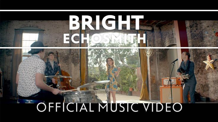 """Exciting news! We're in#Echosmith's latest video for """"Bright."""" Watch now!"""