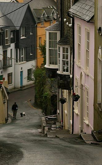 Winter streets in Kinsale, Cork, Ireland°° ❤️ been there 2014