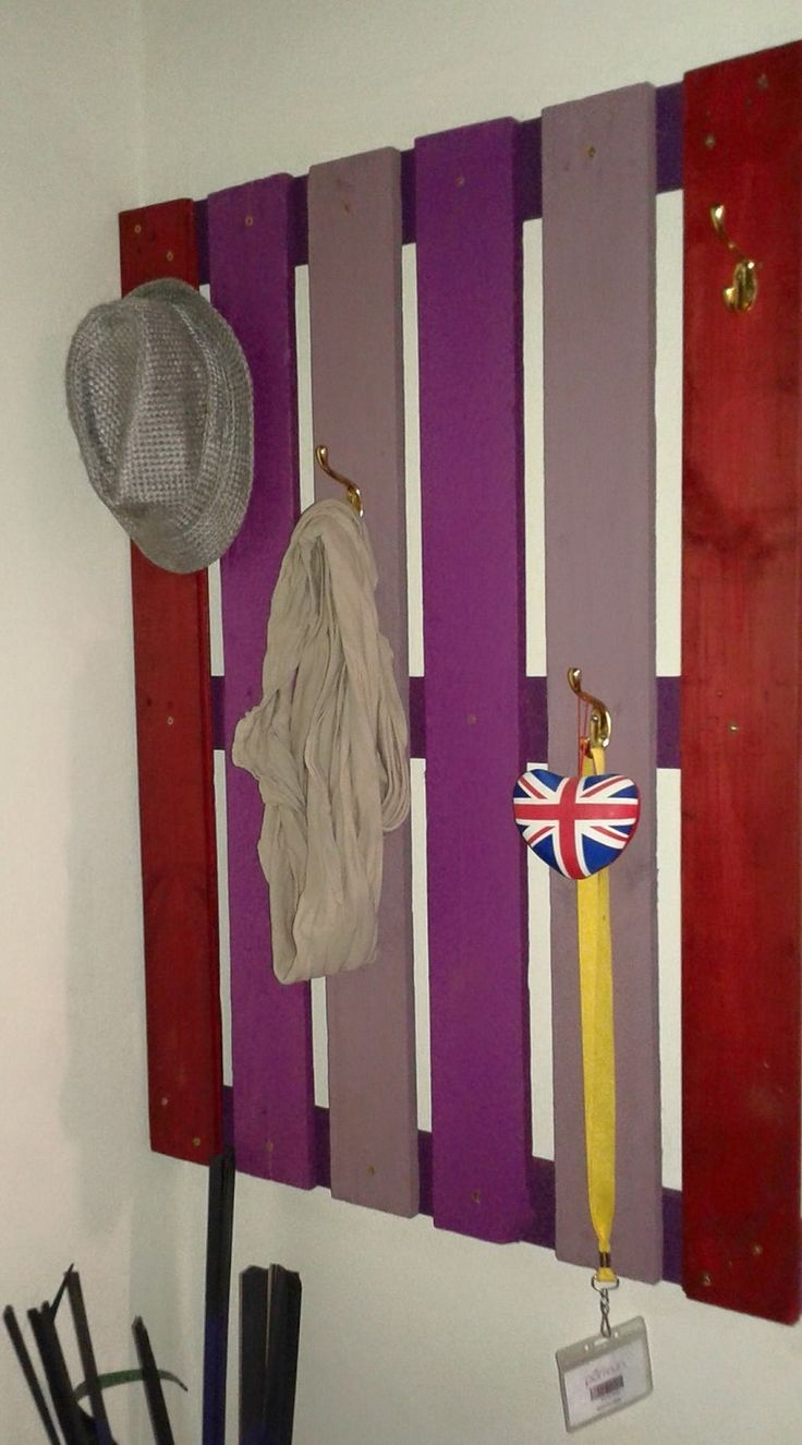 Wall Mount Coat & Hat Stand