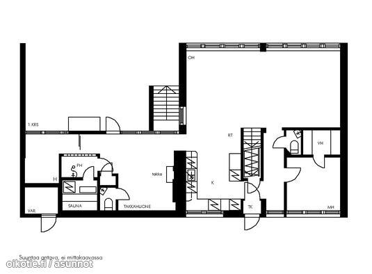 Myynnissä - Rivitalo, Tapiola, Espoo: Menninkäisentie West-House LKV [A] | Oikotie,   Arkkitehti:Aulis Blomstedt