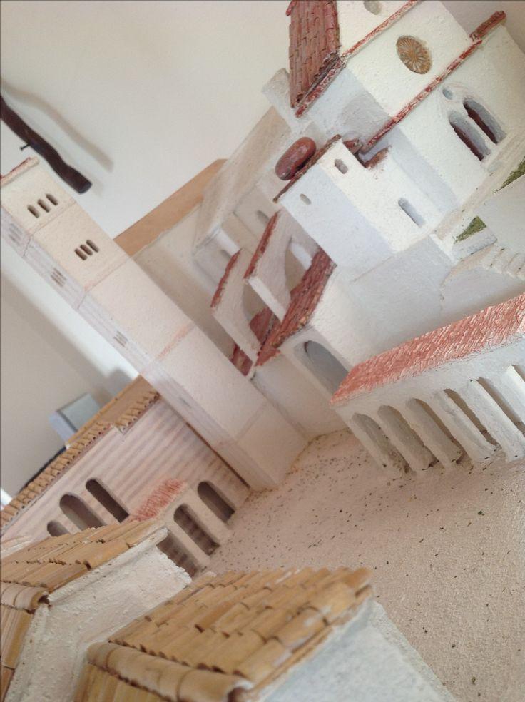 Assisi in legno. Ti ho fatta con le mie mani. Sei bellissima!