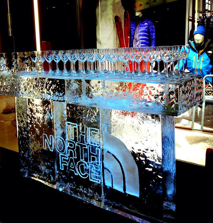 A beautiful ice bar that we have made for a customer's event. Join the ice sculpture industry. Learn why it is an easy and profitable business to start.