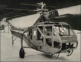 ... development of Igor Sikorsky's successful pre-war VS-300, and in 1944 became the first helicopter in the world to be placed in series production.