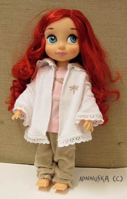 Disney Animator Doll Clothes Pattern Hoodie Doll