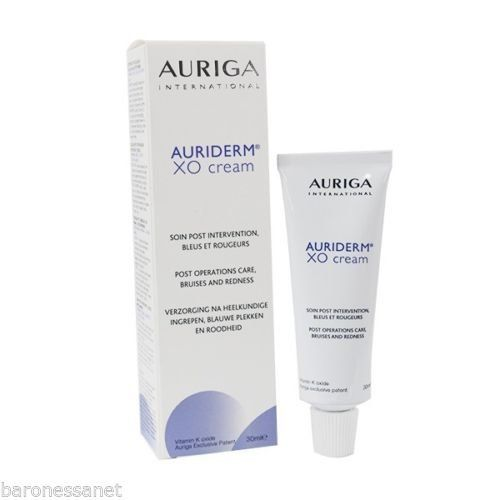 Vitamin K metabolite Redness Bruises Rosacea Laser treatments #Auriderm XO is a cream for topical use containing oxidized vitamin K, #which helps to prevent bruis...