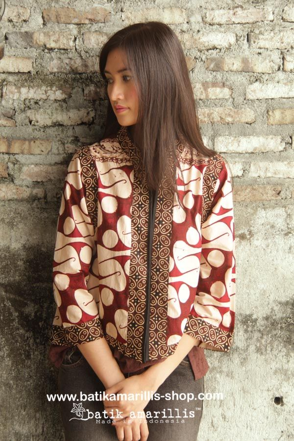 batik amarillis's torera vest  AVAILABLE at www.batikamarillis-shop.com it's a…