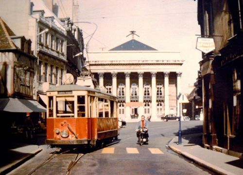 Dijon Place du theatre 1961