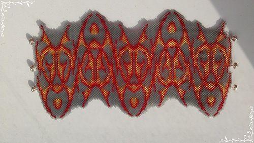Мозаичное плетение бисером - Ярмарка Мастеров - ручная работа, handmade