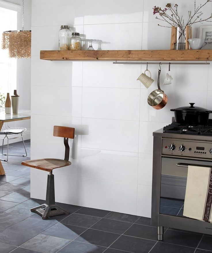 Rectified White Gloss Tile | Topps Tiles