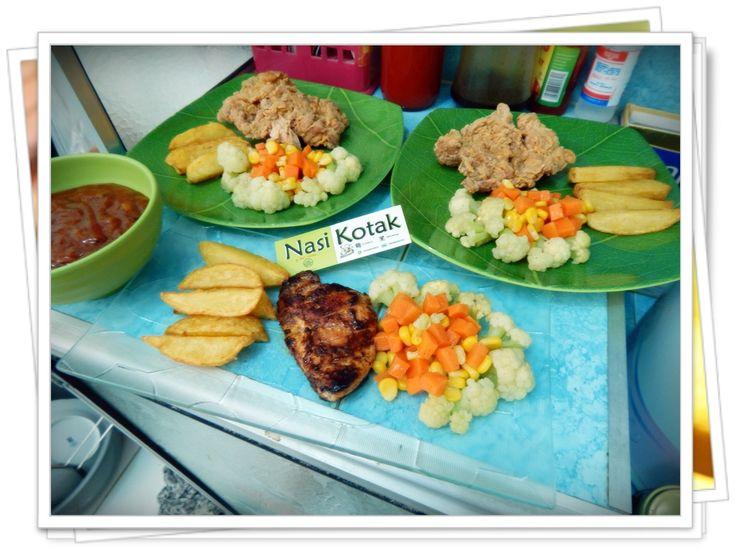 Crispy Chicken Steak & Chicken BBQ