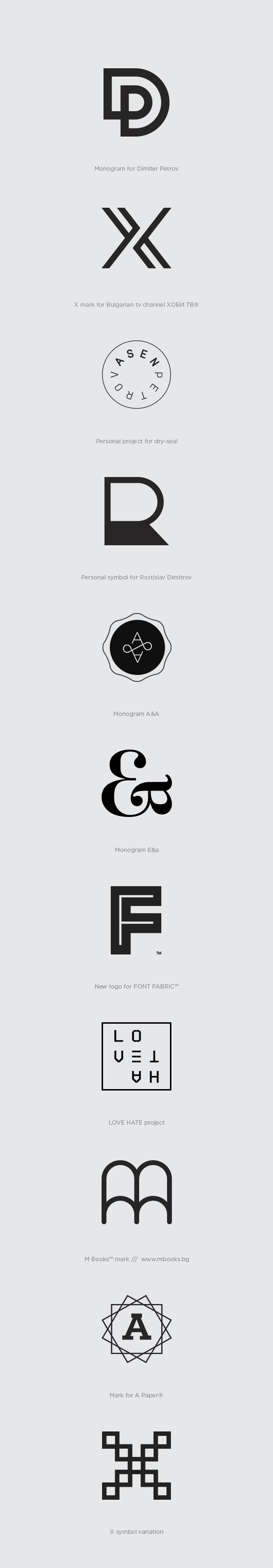Marks_ by Asen Petrov, via Behance