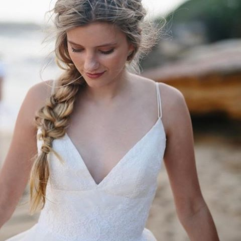 SYDNEY MAKEUP ARTIST HAIRSTYLIST - First look at this beautiful New shoot for @maisonmeadow ✨ With the following awesome Ladies @mia.healey + @ohfloraflowers + @sophthomptlt • Dress by @kwhbridal • HAIR & MAKEUP @veronikamoreira_beauty •  #braiding #braids #braid #beauty #weddings #bridalinspo #maisonmeadow