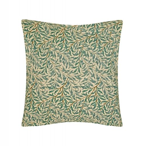 William Morris Willow Bough Green Seat Pads and Cushions