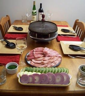 Raclette ideas.  So excited to try my raclette grill for the next book club,  We definitely are experiencing the same frigid temps as the Swiss, where this dish originated;
