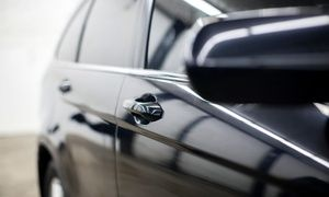 Groupon - Car Scratch and Paint Touch-Up for Up to Four Panels at Empire Garages (Up to 75% Off) in Enfield. Groupon deal price: £19
