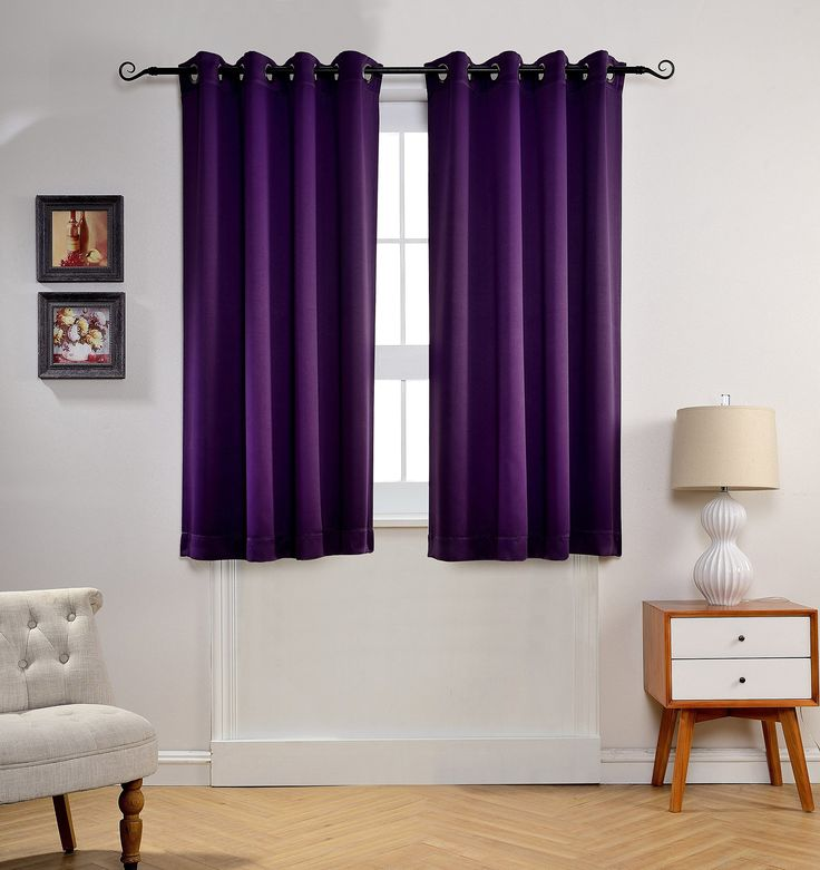 17 best ideas about royal purple bedrooms on pinterest - Blackout curtains for master bedroom ...