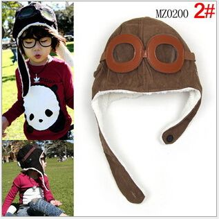 Find More Hats & Caps Information about Free Shipping Baby Toddler Boy Girl Kids Pilot Aviator Cap Fleece Warm Hats Earflap Beanie Drop Shipping,High Quality hat headwear,China beanie ski hat Suppliers, Cheap beanie doll from Men Fashion Style Store on Aliexpress.com