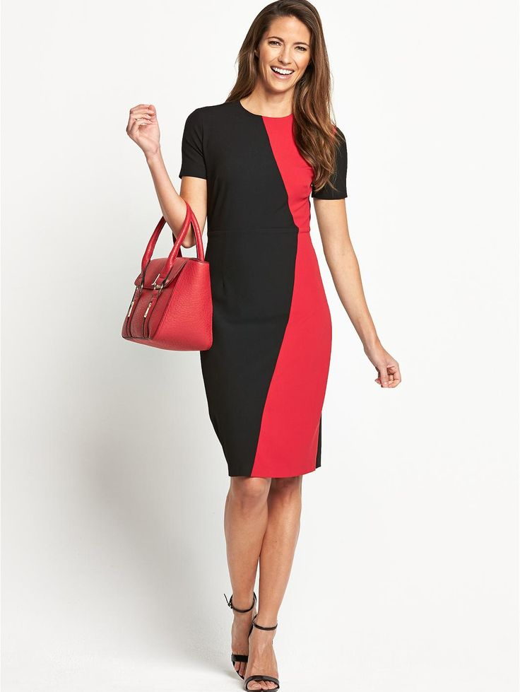 Colourblock Confident Curves Dress, http://www.very.co.uk/savoir-colourblock-confident-curves-dress/1458055476.prd