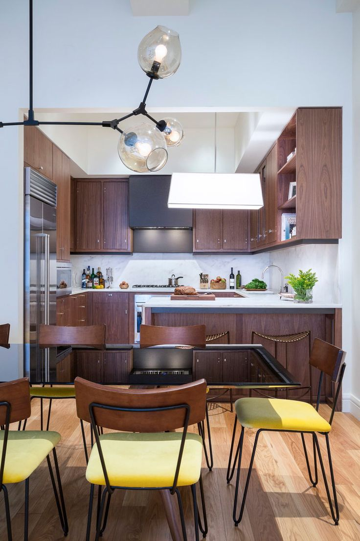 937 best modern kitchens images on pinterest modern kitchens ashley darryl a designer in new york has a great balance of styles that blend modern kitchensin