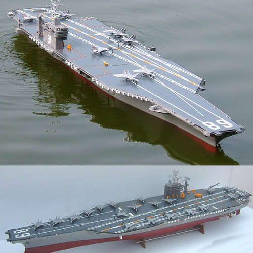 HUGE NEARLY 6 FOOT RC RADIO CONTROL USS NIMITZ CARRIER SHIP BOAT -WATCH VIDEO! | eBay