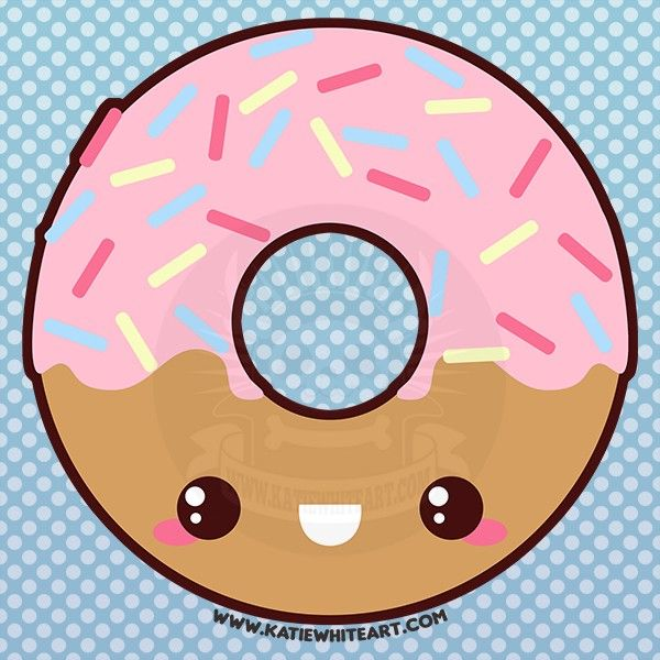 image include donuts, background, cute, rainbow wallpaper | Free ...