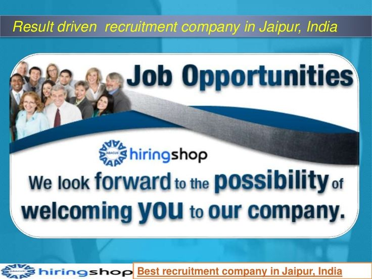 Want to get high package ? Come to at best online job portal Hiring Shop and get your dream job..
