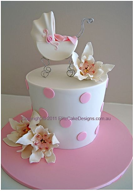 476 best Baby Shower Cakes images on Pinterest Conch fritters