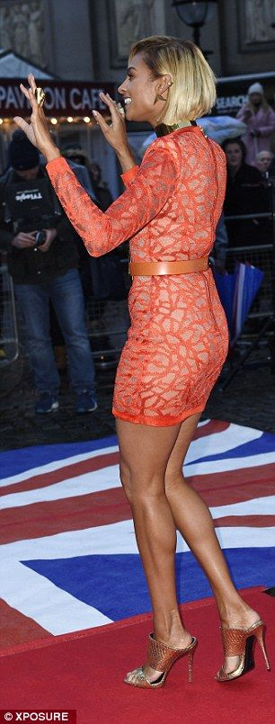 Amanda Holden goes braless for day one of Britain's Got Talent