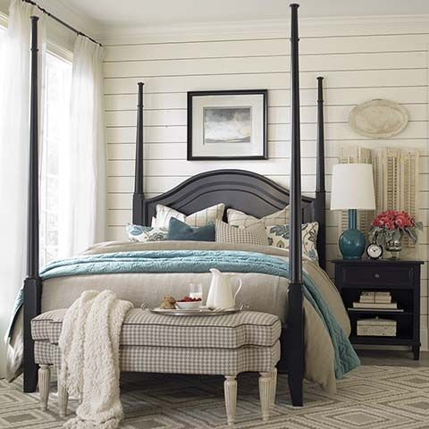 The Chatham Poster Bed By Bassett Furniture Can Also Be Converted To A Low  Poster Bed.