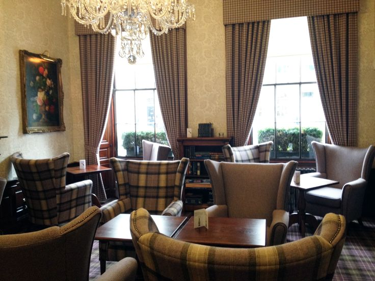 Have you seen the new Drawing Room at The Howard? www.thehoward.com #Edinburgh #hotel #bar #afternoontea